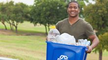 Men may be put off recycling because they think it makes them seem gay