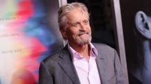 Michael Douglas heard angels singing when he almost died by drowning