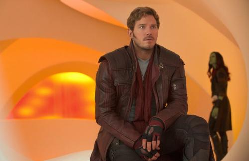 Chris Pratt in <em>Guardians of the Galaxy Vol. 2.</em>