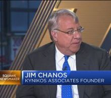 Chanos: We're the least short on China we've been in eigh...