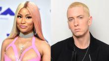 ¡Eminem le pide una cita a Nicki Minaj en pleno concierto!