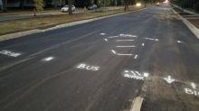 Protected bike lane opens on Park Street in Regina