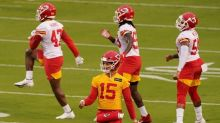 Chiefs QB Patrick Mahomes engaged to longtime girlfriend