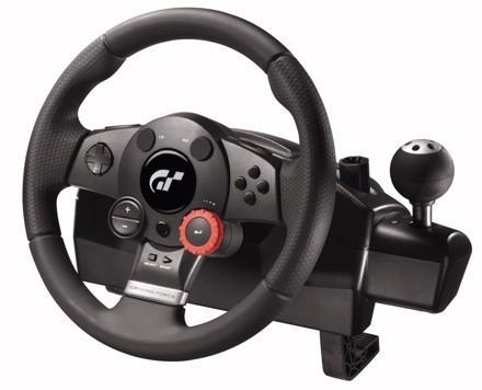 Logitech busts out $150 Driving Force GT wheel for Gran Turismo 5