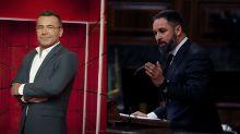 Preocupación en Mediaset por el enfrentamiento público entre Jorge Javier Vázquez y Santiago Abascal (Vox)