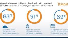 Survey: Companies are Bullish on Cloud Analytics, But Need to Speed Up the Pace