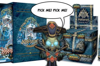 Naxxramas Raid Deck and Treasure Packs now available
