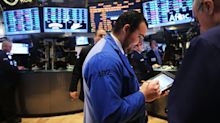Stocks down as oil market slides