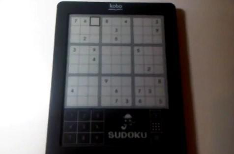 Kobo eReader Touch does more than words, handles Sudoku and web browsing on the side (video)