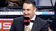 Irony behind announcer's embarrassing Tim Tszyu gaffe