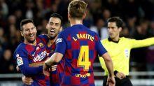 Messi and Suarez goals light up Barca
