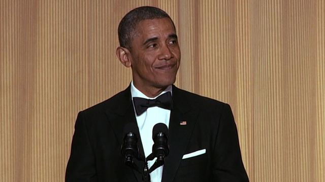 Obama roasts Republicans, Democrats and the media at correspondents' dinner