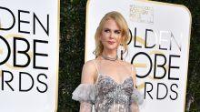 Nicole Kidman impresiona de plateado