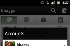 Twitter for Android gets push notifications, multiple account support