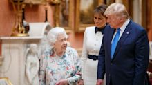 Melania saves Trump from royal faux-pas over statue