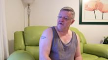 Healthy man, 52, has 'do not resuscitate' tattooed on his chest
