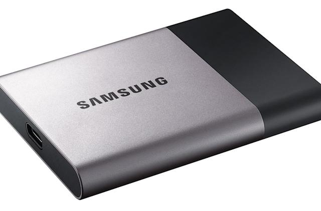 Samsung's new portable SSD puts 2TB in your pocket