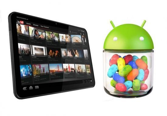 Certified testers (and tweakers) get Jelly Bean for their Honeycomb-era Xoom WiFis