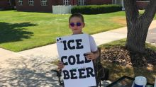 Boy's 'ice cold beer' stand prompts calls to police — turns out to be root beer