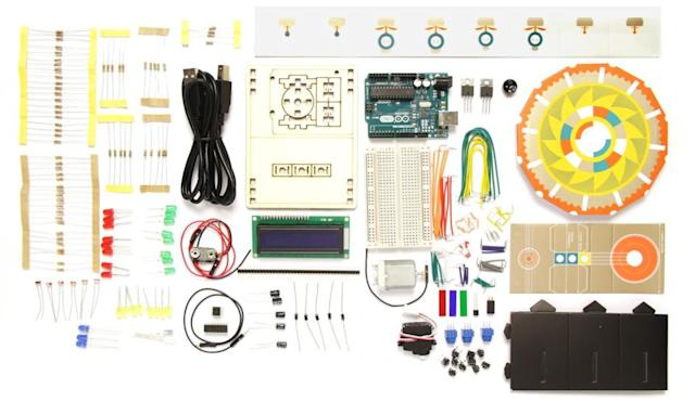 This Arduino Basic Kit has everything a newbie maker could ask for