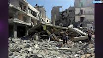 Israel Strikes Gaza Mosque As Death Toll Tops 120