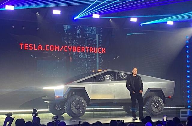 Tesla unveils its Cybertruck, with a price starting at $39,900