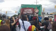 Defund the police protests held in Toronto as demonstrators point to government inaction