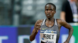 Olympic champion Jebet breaks steeplechase world record