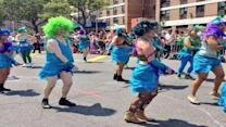 Sandy survival celebrated at Coney Island's Mermaid Parade