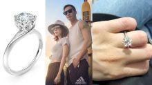 超貼地!入門級求婚戒指兩萬元有找