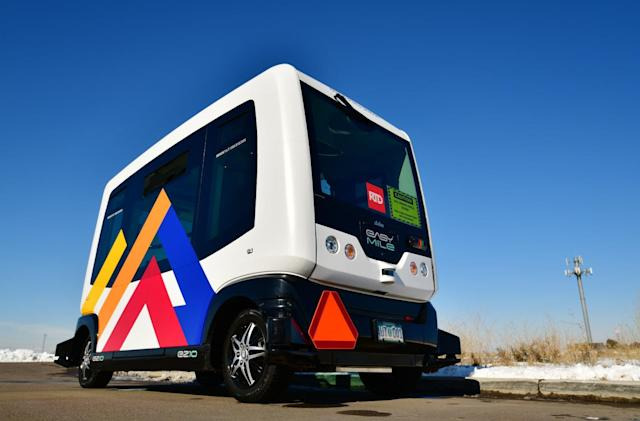 EasyMile forced to suspend autonomous shuttle rides in 10 US states