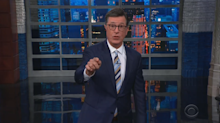 Stephen Colbert blasts Trump for 'The Squad' comments: 'Just shut up!'