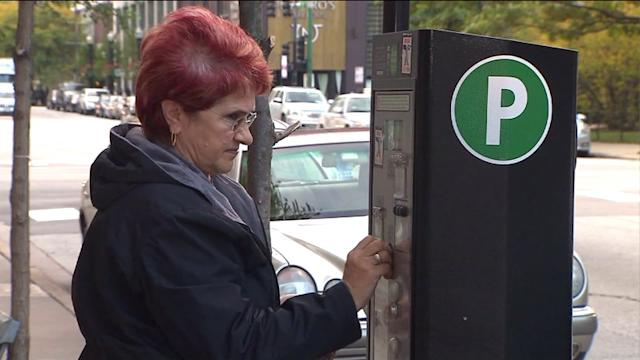 Chicago aldermen vote on mayor`s parking meter deal