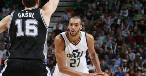 Basket - NBA - Rudy Gobert et le Jazz sans l'avantage du terrain au premier tour des play-offs