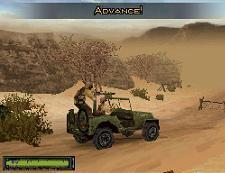 Brothers in Arms screens split the duty