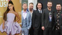 Ariana Grande Fuels Rumors of an *NSYNC Collab at Coachella
