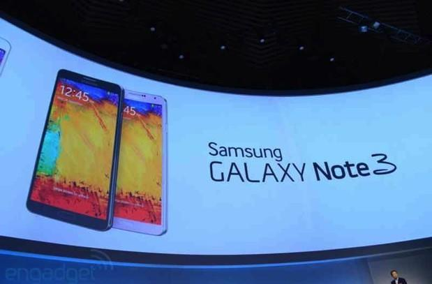 Samsung Galaxy Note 3 makes official debut with 5.7-inch 1080p screen and faux-leather back, available September 25th