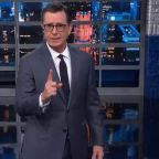 'The Late Show With Stephen Colbert' Explores The Trump Impeachment Diet