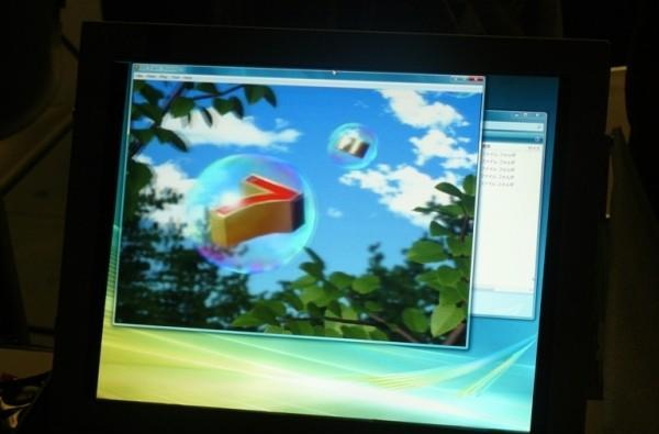 Toshiba prototype display does 2D and 3D at the same time