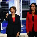 Democrats clash in 2020's opening debate, aiming at Trump