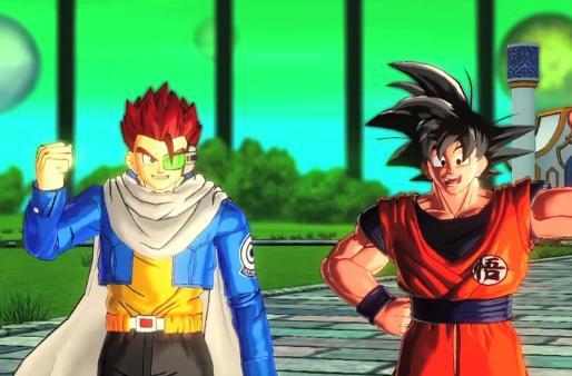 Dragon Ball Xenoverse casts you as a super saiyan savior