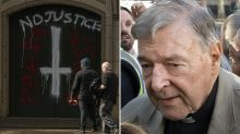 Cathedral trashed after George Pell walks free from prison