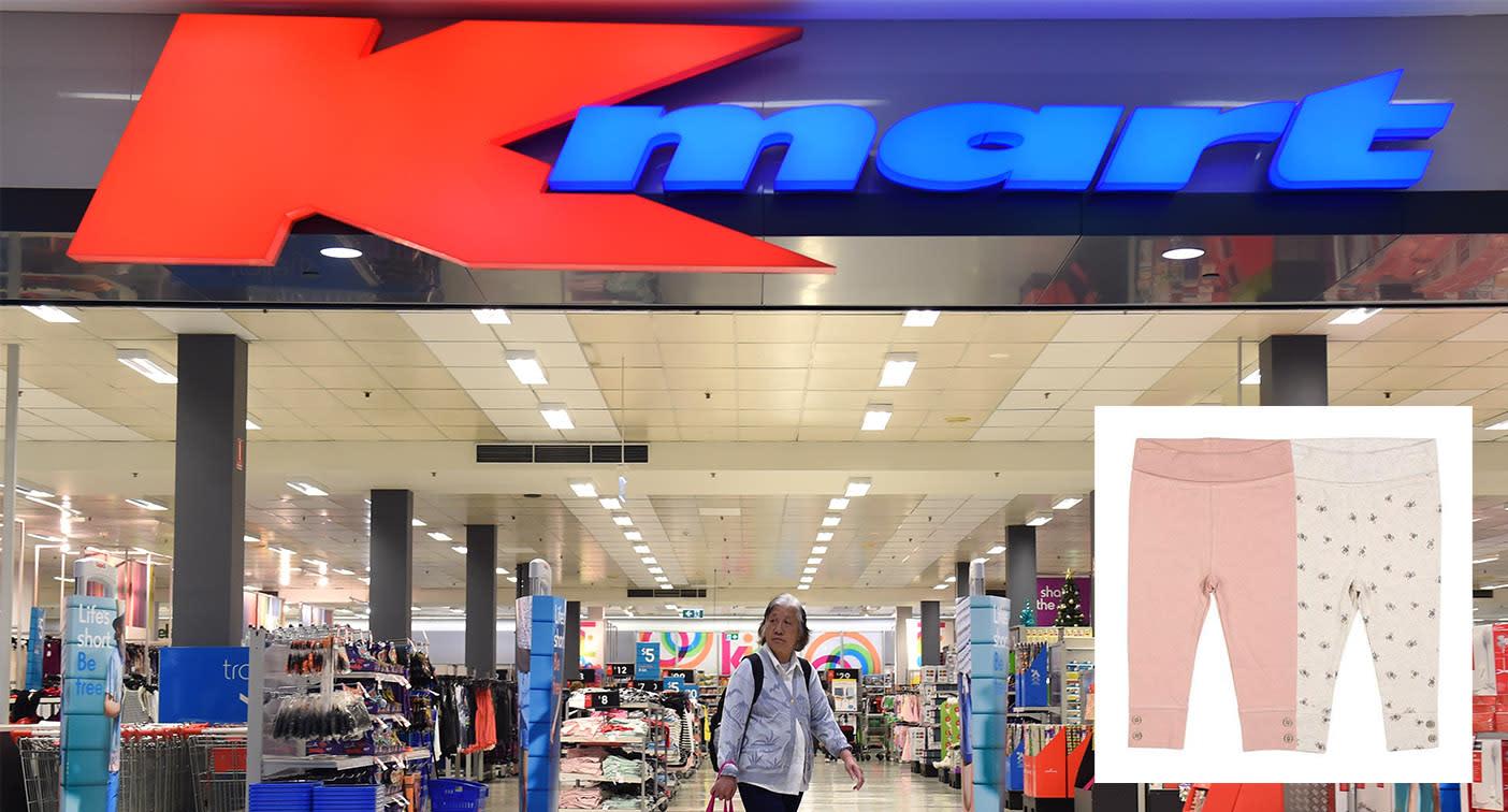 Kmart leggings recalled over choking fears – Yahoo News Australia