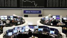 European shares slide as U.S.-China trade war intensifies