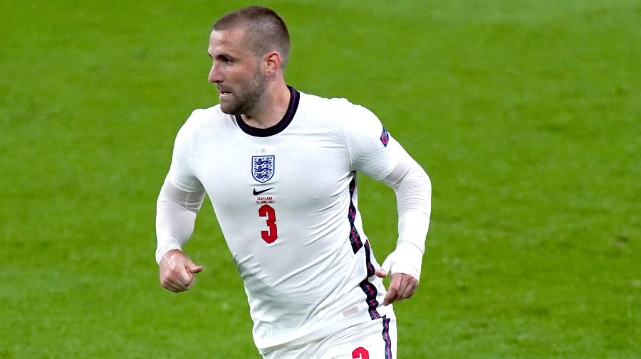 Luke Shaw backs 'best striker in the world' Harry Kane to come good for England