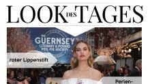 Look des Tages: Lily James im romantischen Frühlings-Look