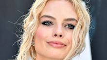 Margot Robbie Suffers Red Carpet Wardrobe Malfunction, Gets Helping Hand From Co-Star