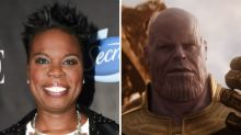 Leslie Jones Recorded Her Reactions to 'Avengers: Infinity War' Live and Lost Her Mind Over Thanos — Watch
