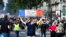 14-Juillet : quelques milliers de manifestants dans plusieurs villes de France pour l'hôpital public