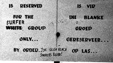 Surfe já boicotou o apartheid na África do Sul